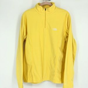The North Face Fleece Pullover Jacket Yellow